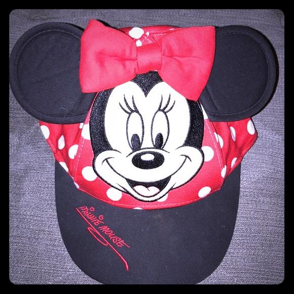 07077710821 Disney Other - Minnie Mouse Disney Parks Girls hat